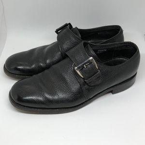 Florsheim Imperial Sz 11 Monk Strap Pebble Leather